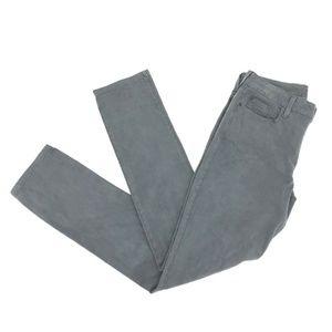 NYDJ Slim Straight Leg Jeans Sz 12 Gray Lift Tuck